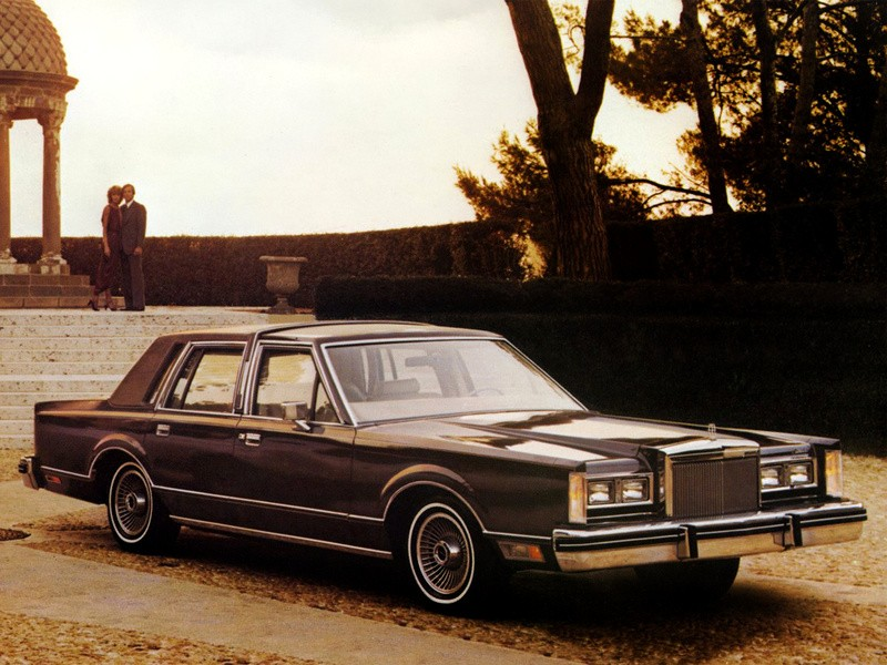 LINCOLN Continental specs & photos - 1980, 1981 ...