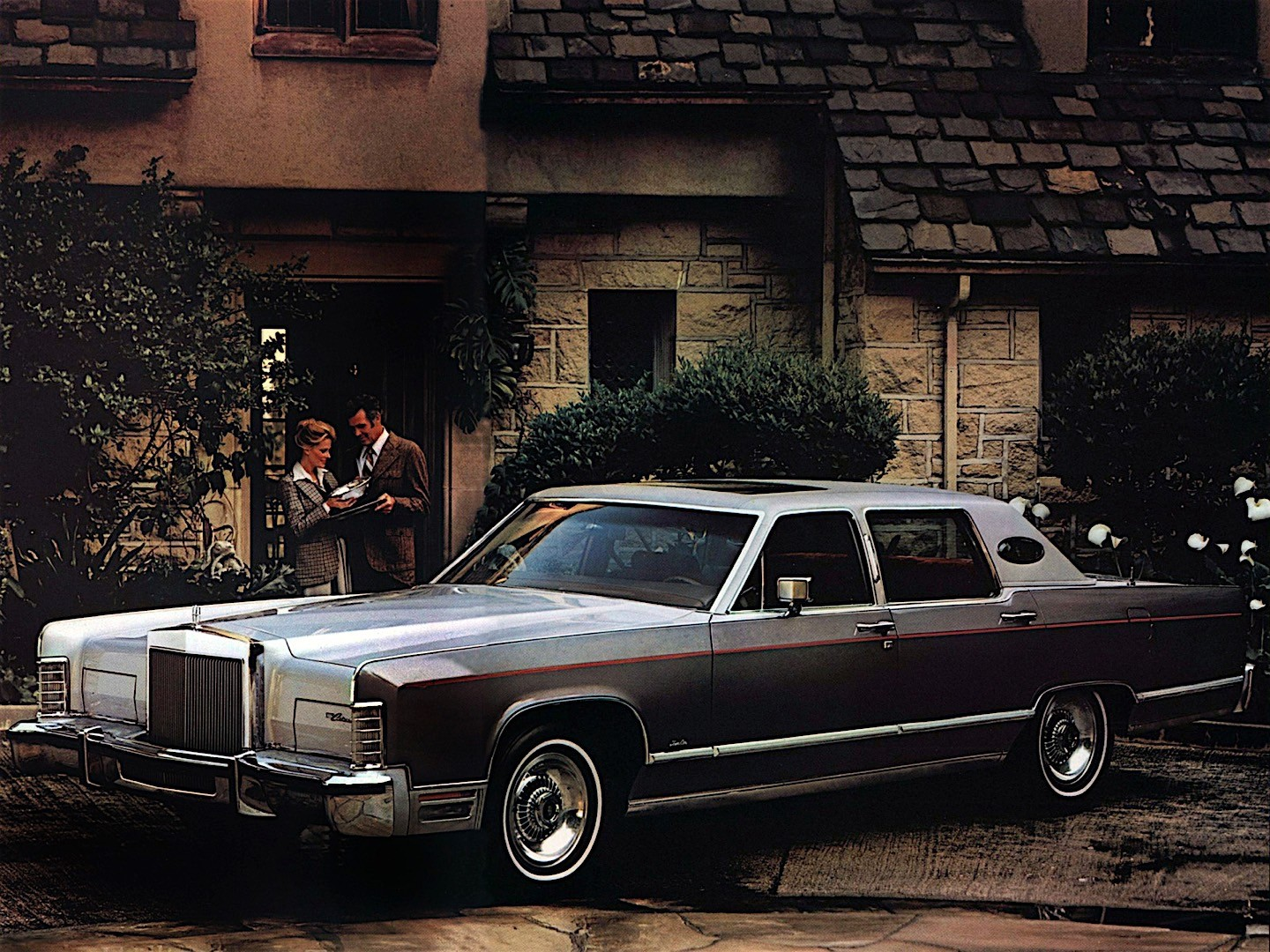 LINCOLN Continental specs & photos - 1970, 1971, 1972, 1973