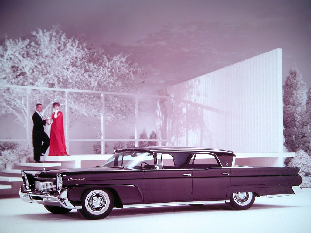 Air Conditioning Vents >> LINCOLN Continental specs & photos - 1958, 1959, 1960 - autoevolution