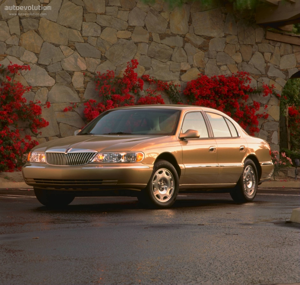 Lincoln continental 1995 2002