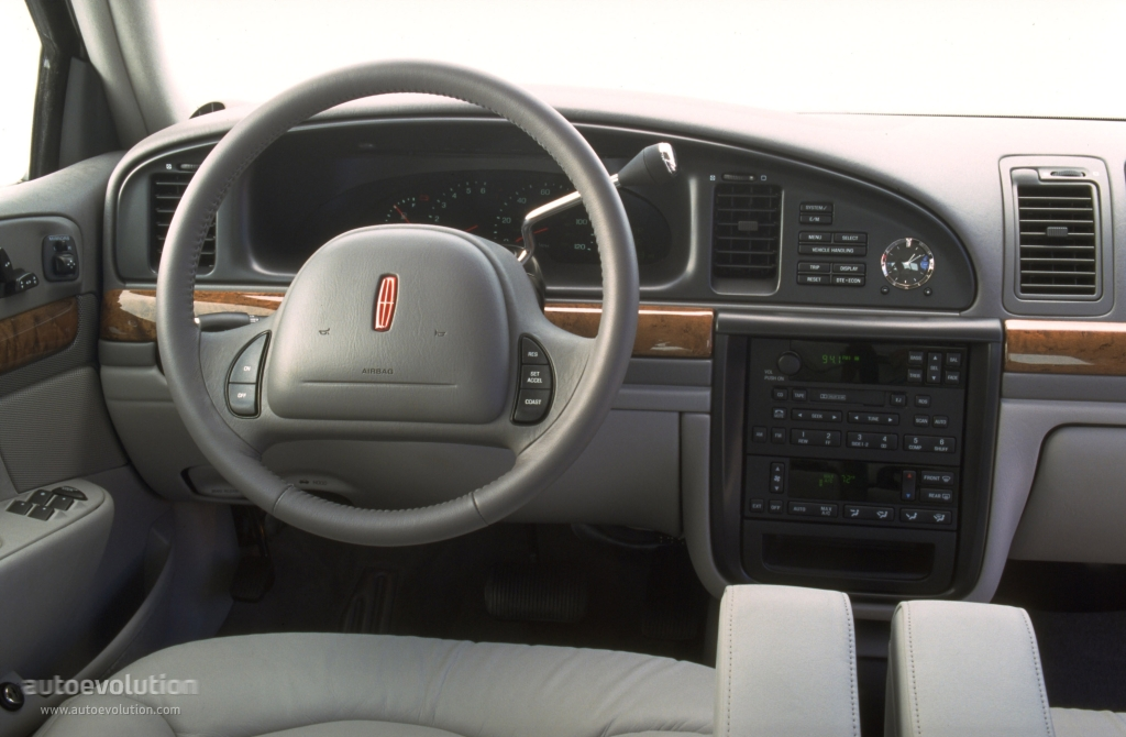 LINCOLN Continental specs & photos - 1995, 1996, 1997 ...