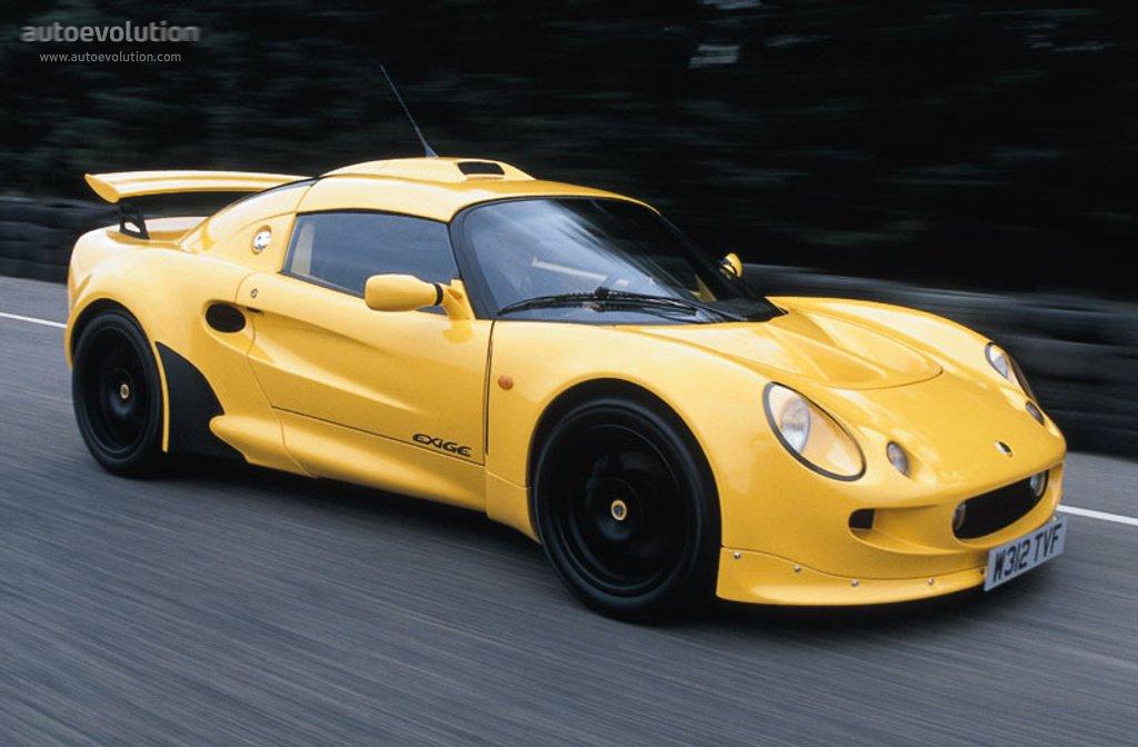 Lotus Exige Specs 2000 2001 2002 2003 Autoevolution