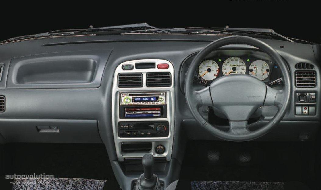 Maruti Suzuki Baleno Specs 2000 2001 2002 2003 2004