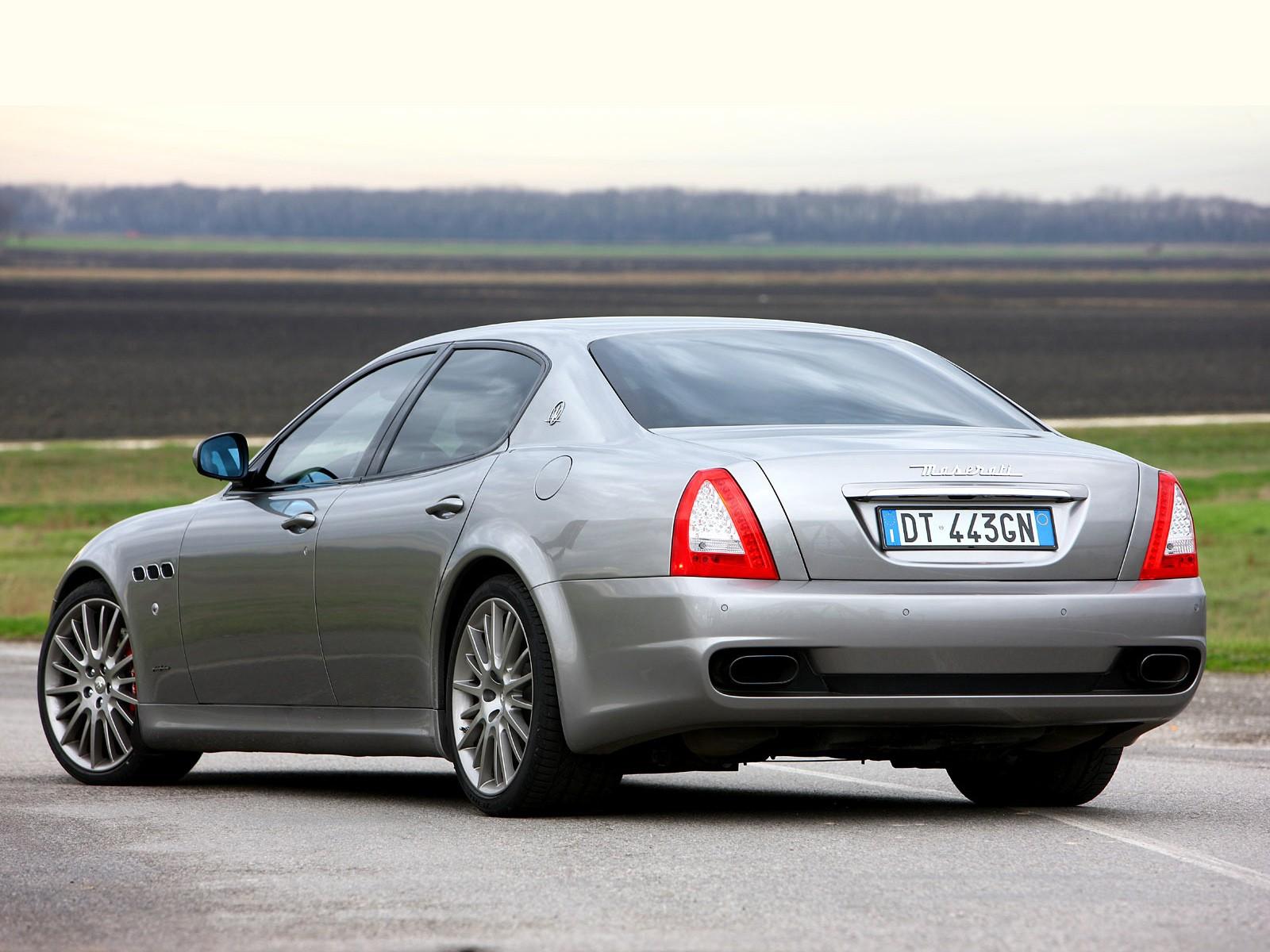 MASERATI Quattroporte Sport GT S specs & photos - 2009 ...
