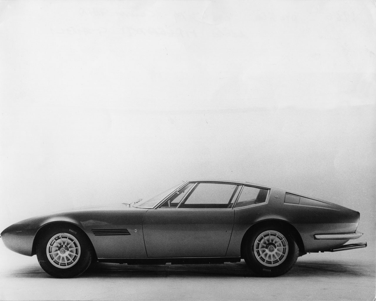 Maserati Ghibli 1967 1968 1969 1970 1971 1972 1973