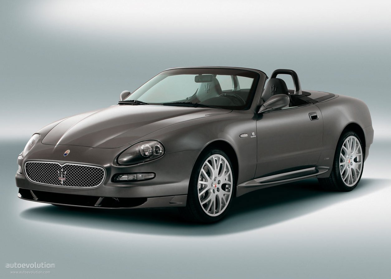2006 maserati gransport spyder