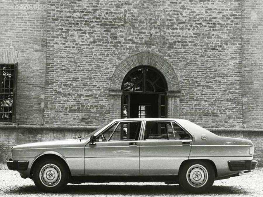 MASERATI Quattroporte III - 1976, 1977, 1978, 1979, 1980 ...