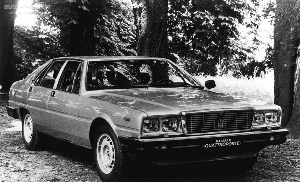 MASERATI Quattroporte III specs - 1976, 1977, 1978, 1979 ...