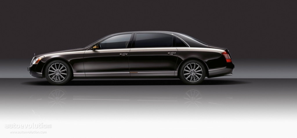 Maybach 62 Zeppelin 2009 2010 2011 2012 Autoevolution