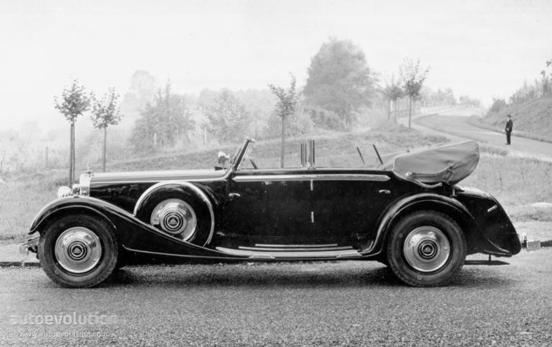 Maybach Typ Dsh Cabriolet Specs Amp Photos 1934 1935