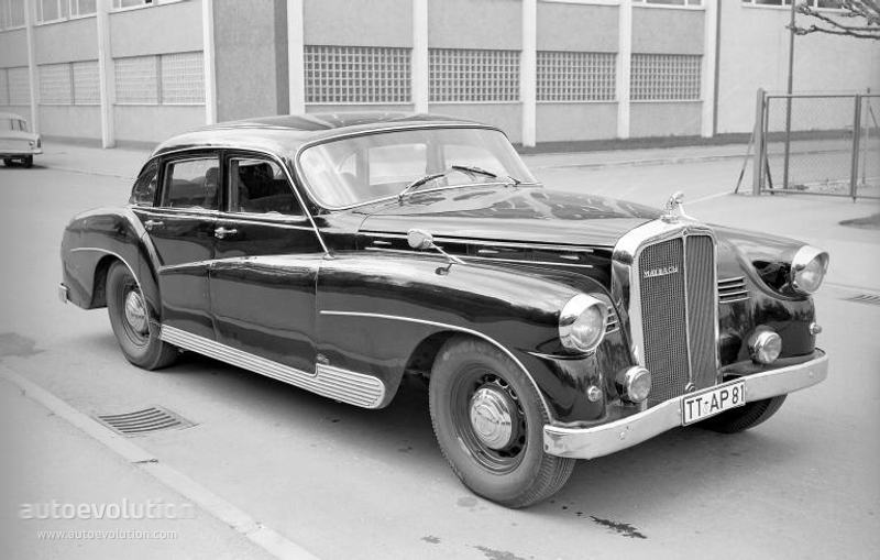 Maybach Typ Sw 42 Quot Ponton Quot By Spohn Specs Amp Photos 1951