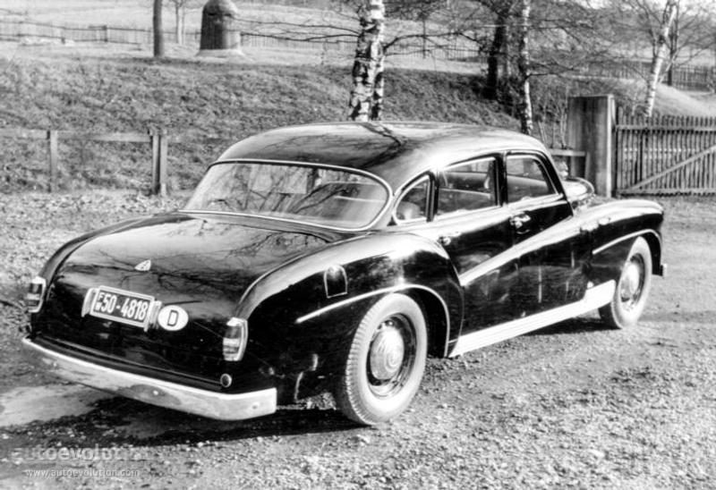maybach typ sw 42 ponton by spohn specs photos 1951 1952 1953 1954 autoevolution. Black Bedroom Furniture Sets. Home Design Ideas