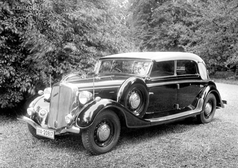 Maybach Typ Sw 42 Cabriolet Specs Amp Photos 1940 1941 1942 1943 1944 1945 Autoevolution
