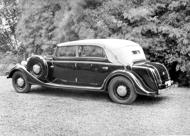 Maybach Typ Sw 42 Cabriolet 1940 1941 1942 1943 1944