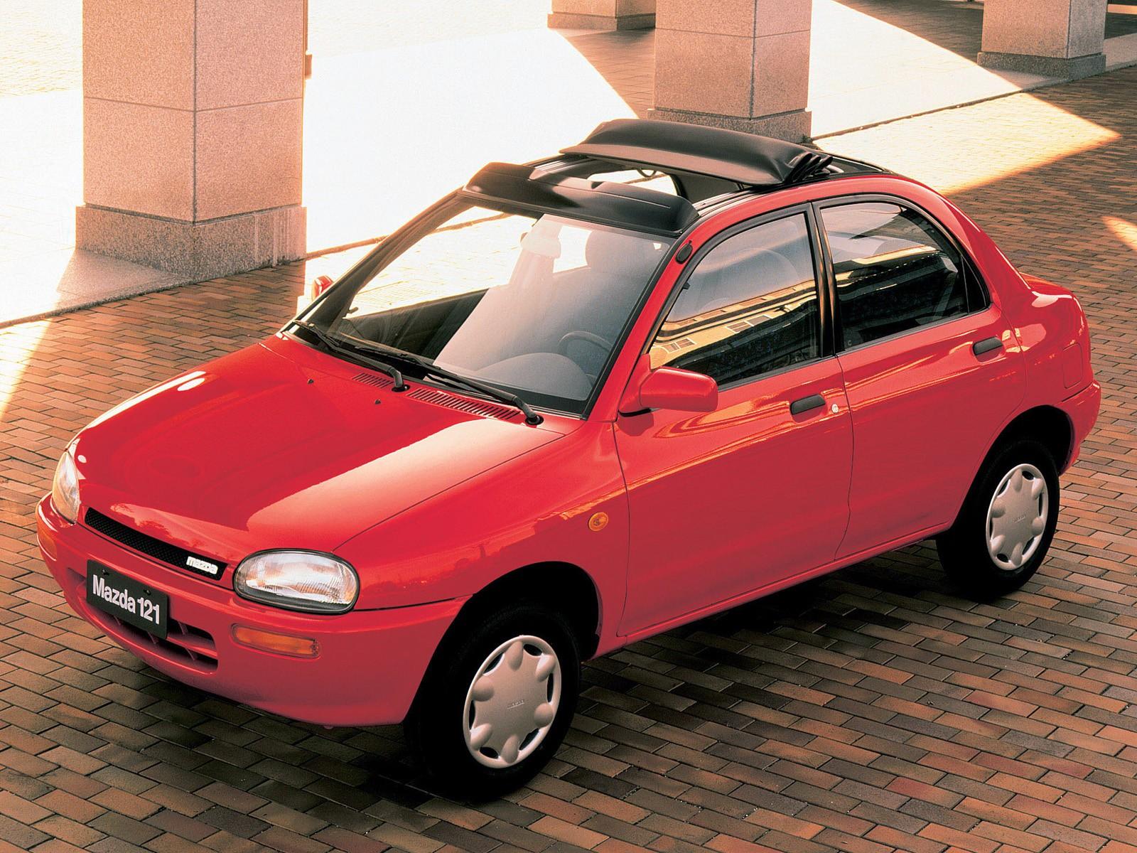 Mazda 121 Revue Mk 2 1991 1992 1993 1994 1995
