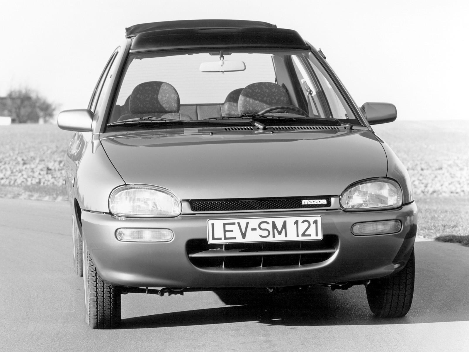MAZDA 121/ Revue (Mk.2) specs & photos - 1991, 1992, 1993, 1994, 1995, 1996, 1997, 1998 ...