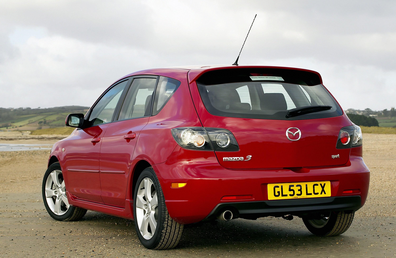 2004 mazda 3 hatchback engine
