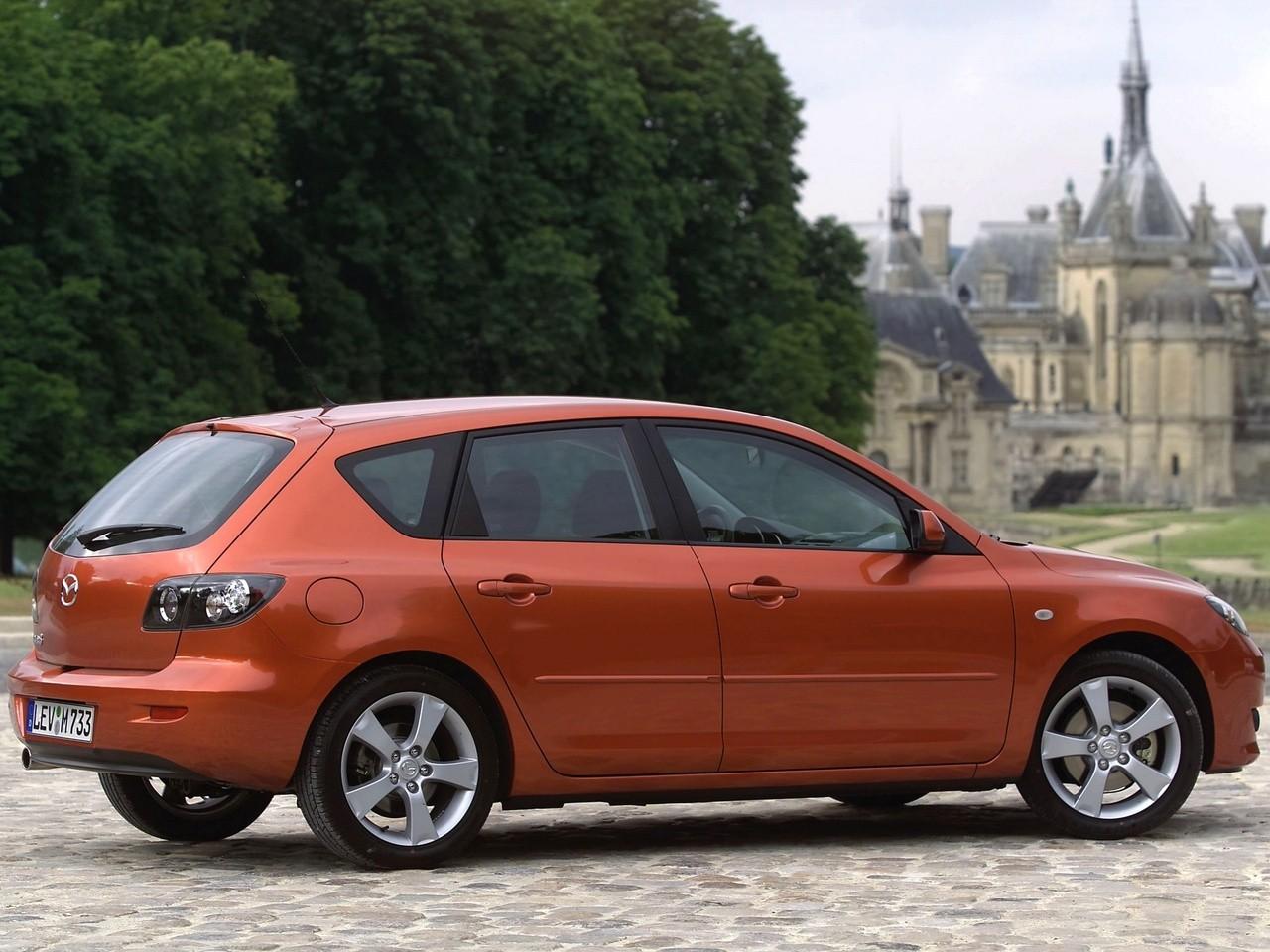 Mazda 3 Axela Hatchback 2004 2005 2006 2007 2008 2009 Autoevolution