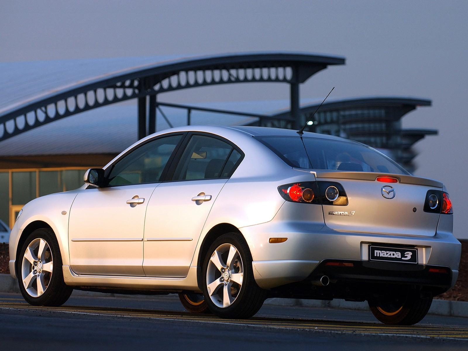 Superb ... MAZDA 3 / Axela Sedan (2004   2009) ...