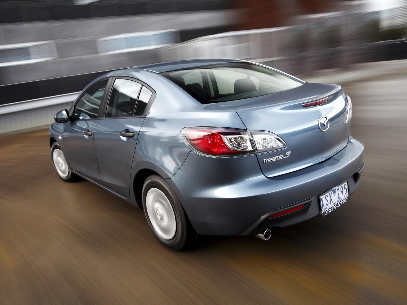 Mazda 3 Axela Sedan 2009 2010 2011 2012 2013 Autoevolution
