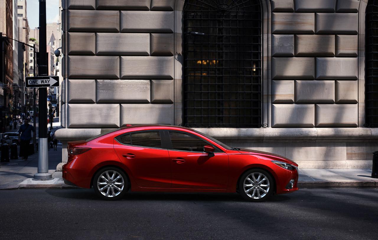 Mazda 3 2014 фото седан