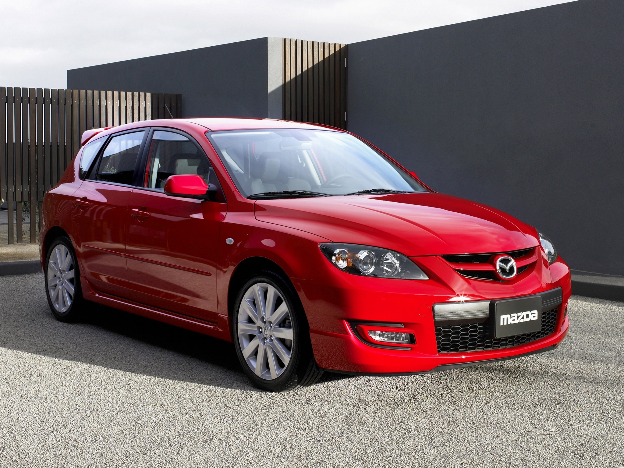 ... MAZDA 3 MPS / MAZDASPEED3 (2006 - 2009) ...