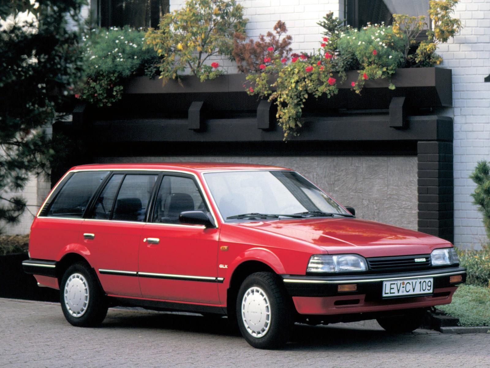 Mazda 323 Bf Station Wagon 1986 1987 1988 1989