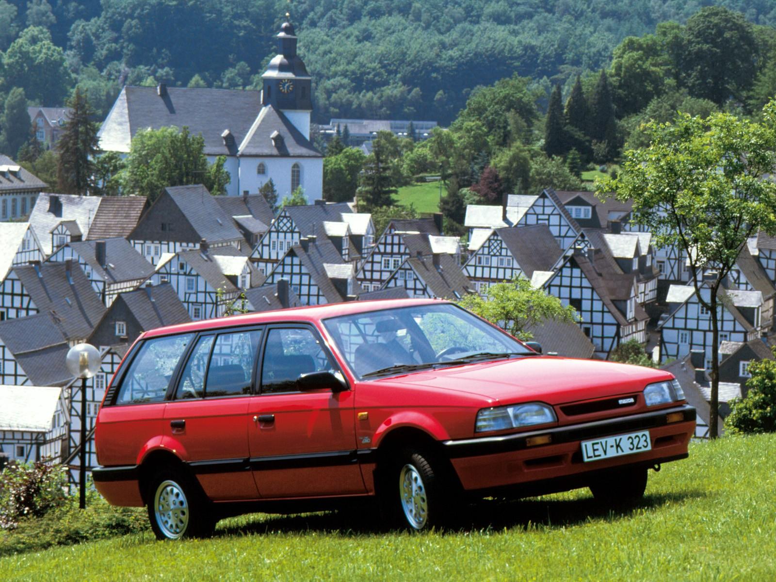 Mazda 323 Bf Station Wagon Specs 1986 1987 1988