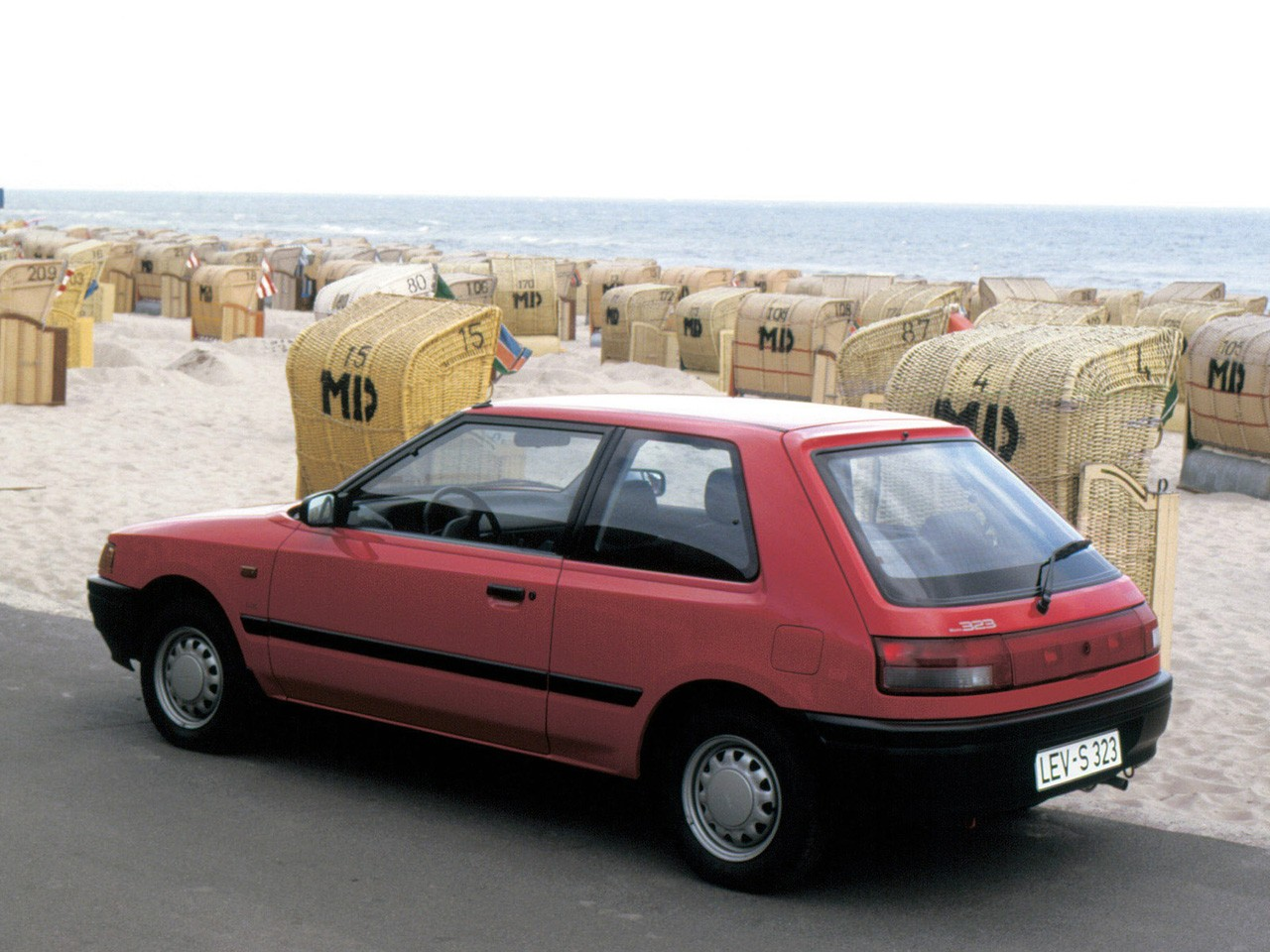 Mazda 323 Bg Hatchback 1989 1990 1991 1992 1993