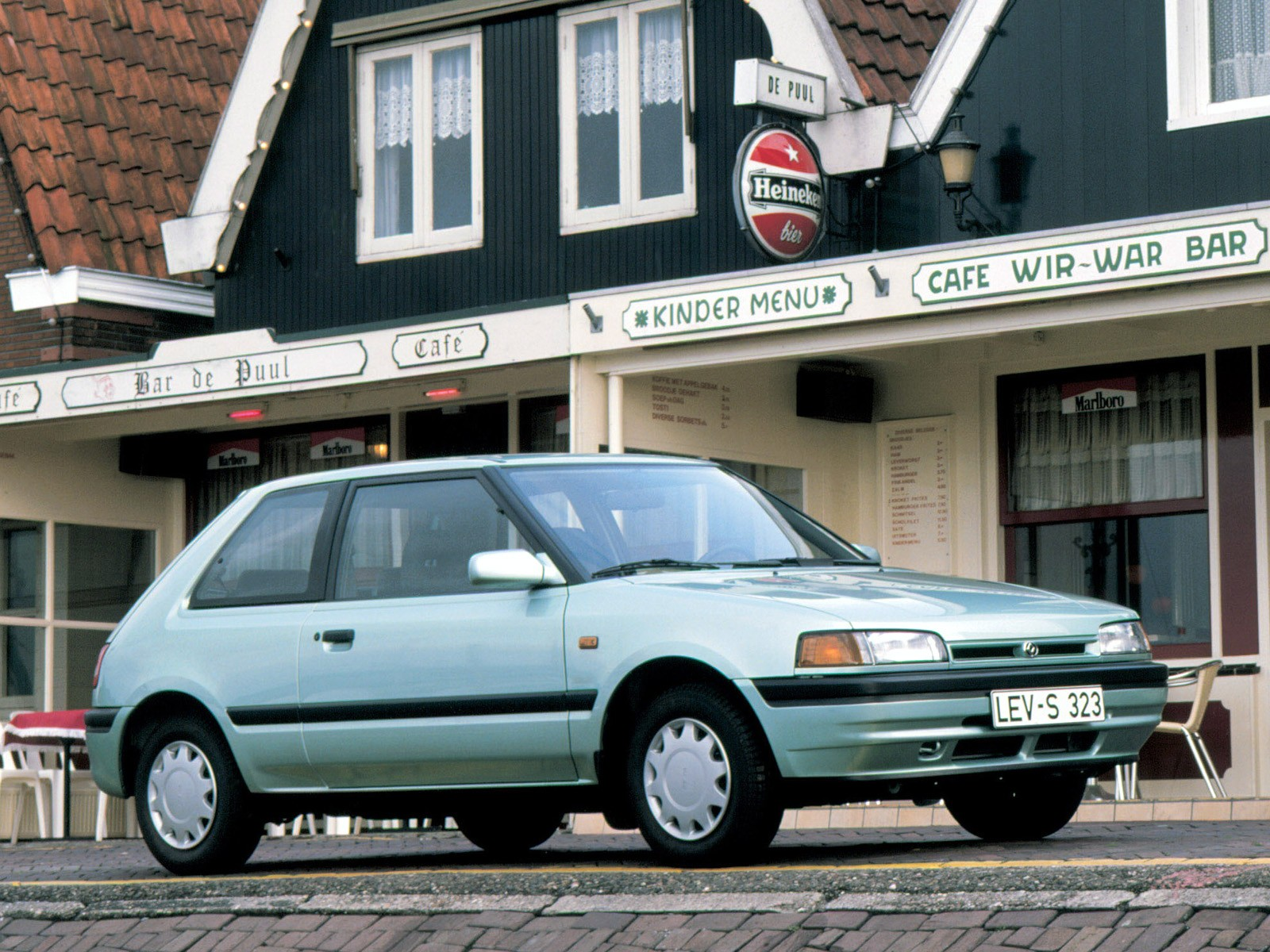 Mazda Bg Hatchback on 1991 Toyota Tercel Engine