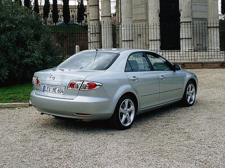 mazda 6/atenza sedan spezifikationen & fotos - 2002, 2003, 2004