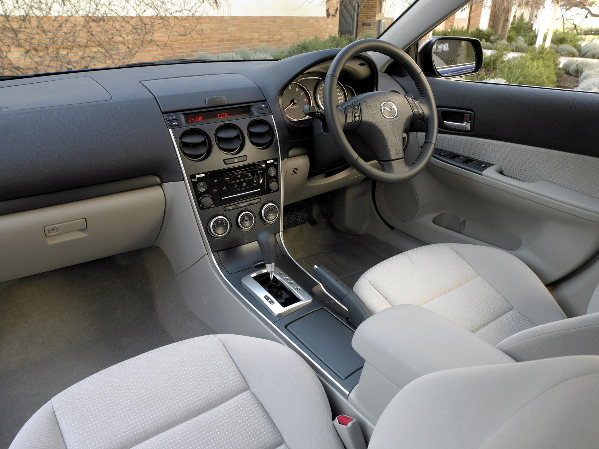 Kia Sportage Specs >> MAZDA 6/Atenza Wagon specs & photos - 2005, 2006, 2007 ...