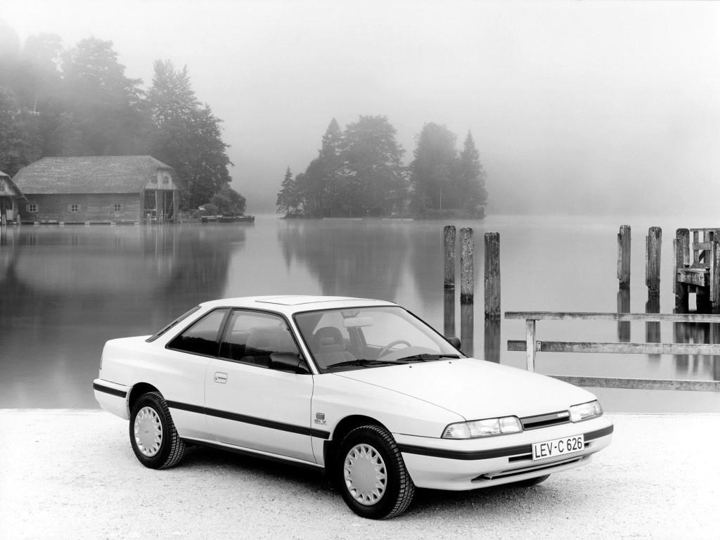 Mazda 626 Mk 3 Hatchback 1988 1989 1990 1991