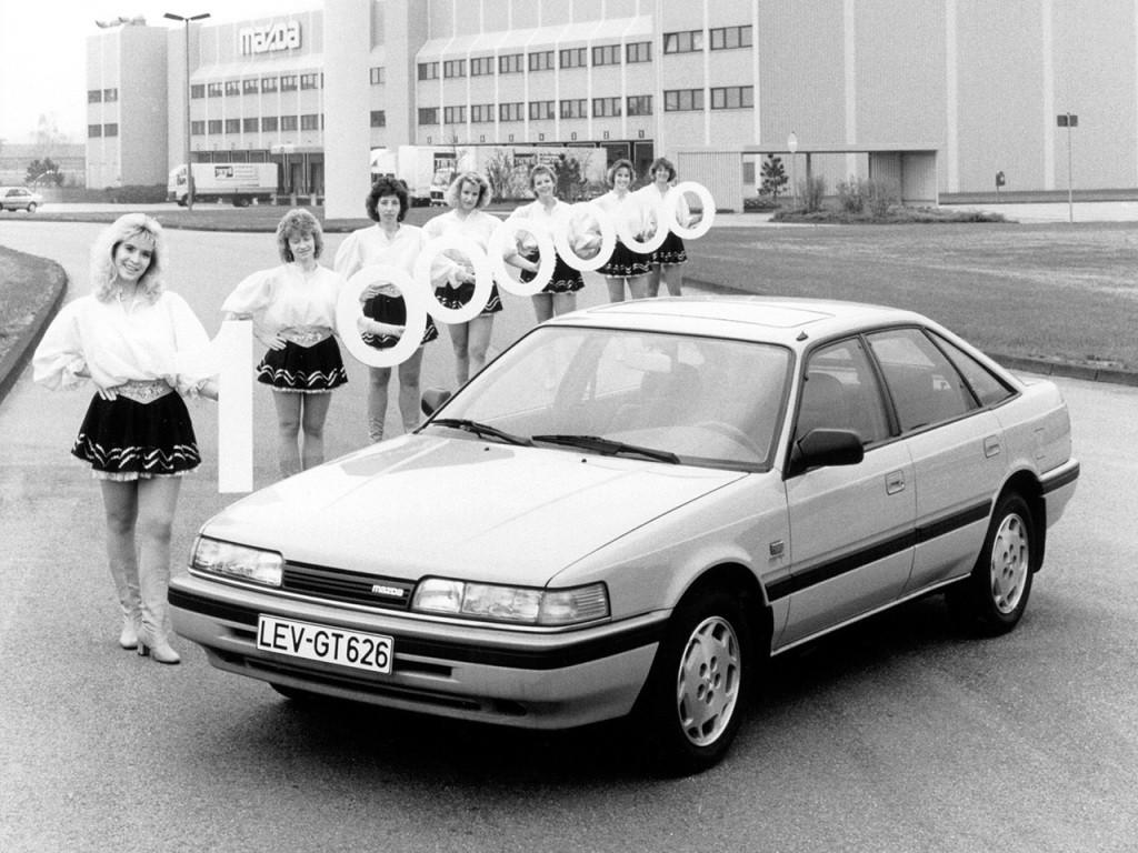 MAZDA 626 (Mk.3) Hatchback specs & photos - 1988, 1989 ...
