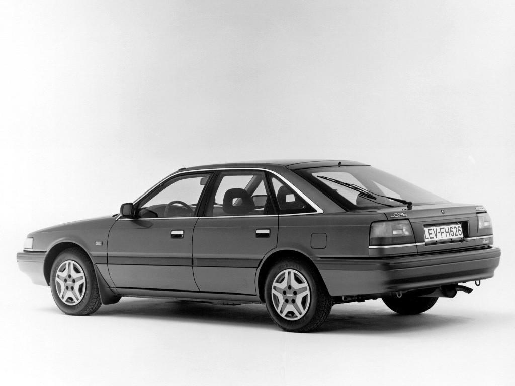 mazda 626 mk 3 hatchback 1988 1989 1990 1991 autoevolution. Black Bedroom Furniture Sets. Home Design Ideas