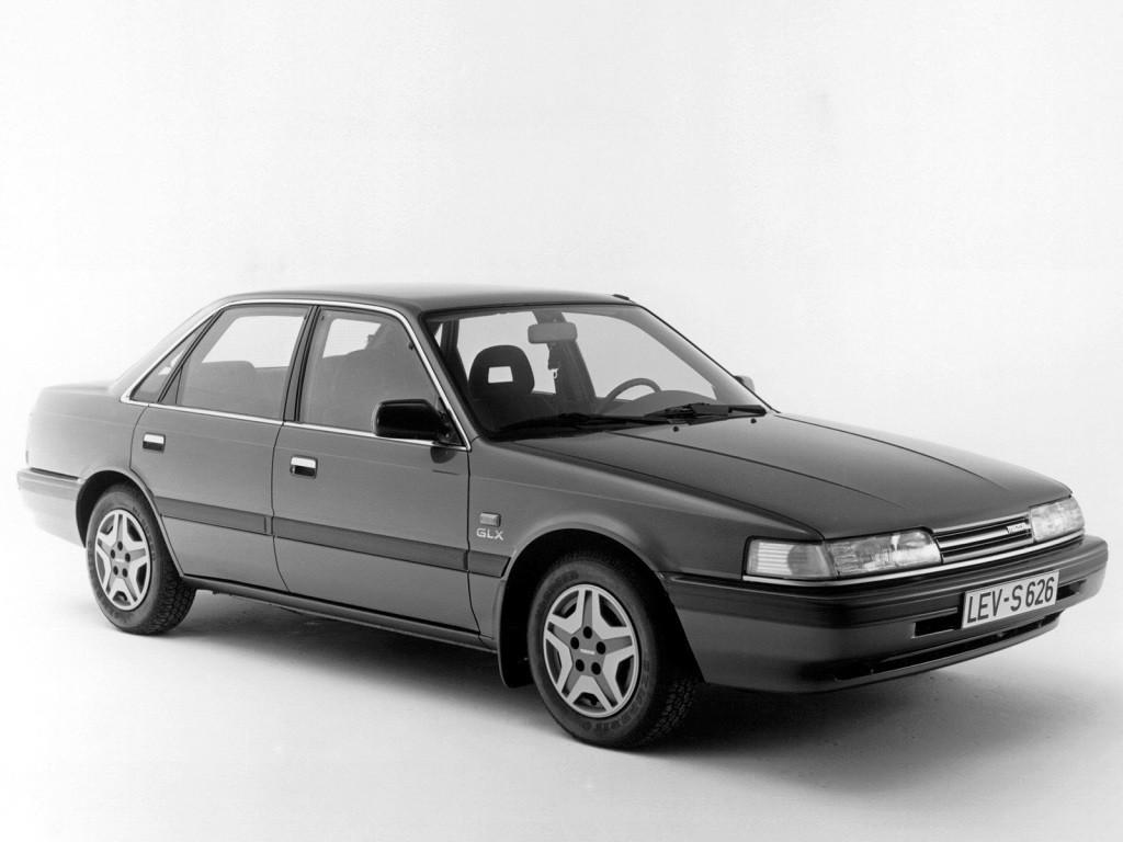 Mazda Mk Sedan on 1990 Dodge Pick Up