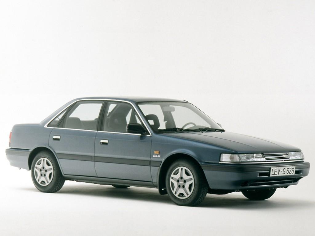 MAZDA 626 (Mk.3) Sedan specs - 1988, 1989, 1990, 1991 ...