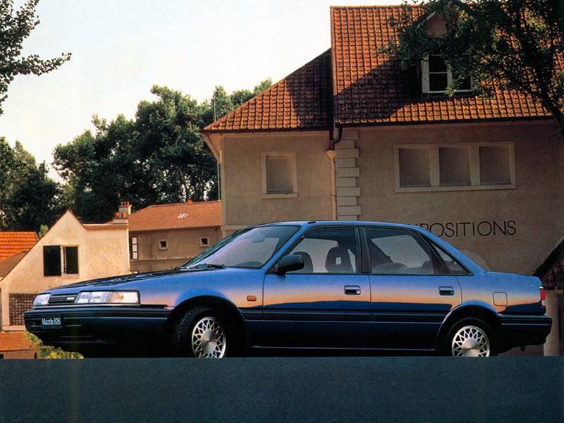 Mazda 626 mk 3 sedan 1988 1989 1990 1991 autoevolution