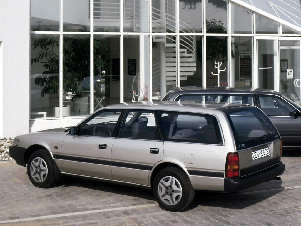 Mazda 626 mk 3 station wagon specs 1988 1989 1990 1991 autoevolution