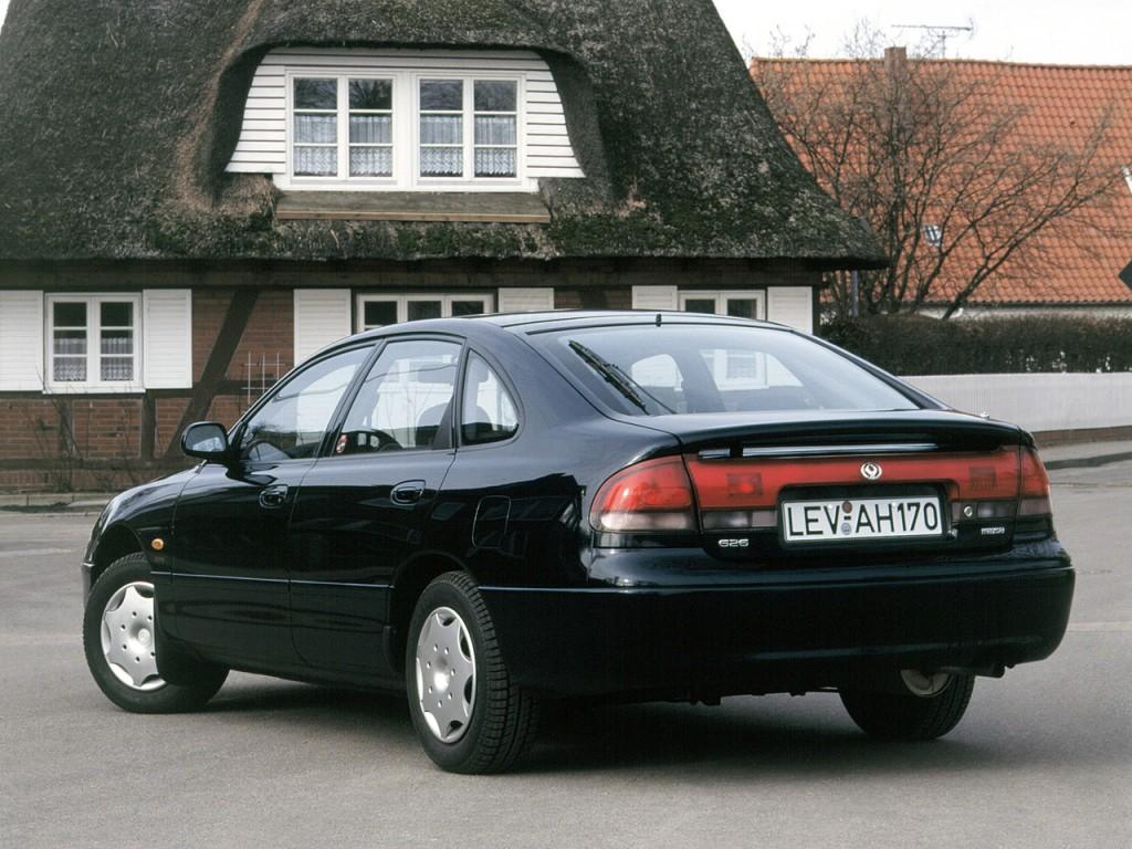 Mazda 626 Mk 4 Hatchback 1991 1992 1993 1994 1995