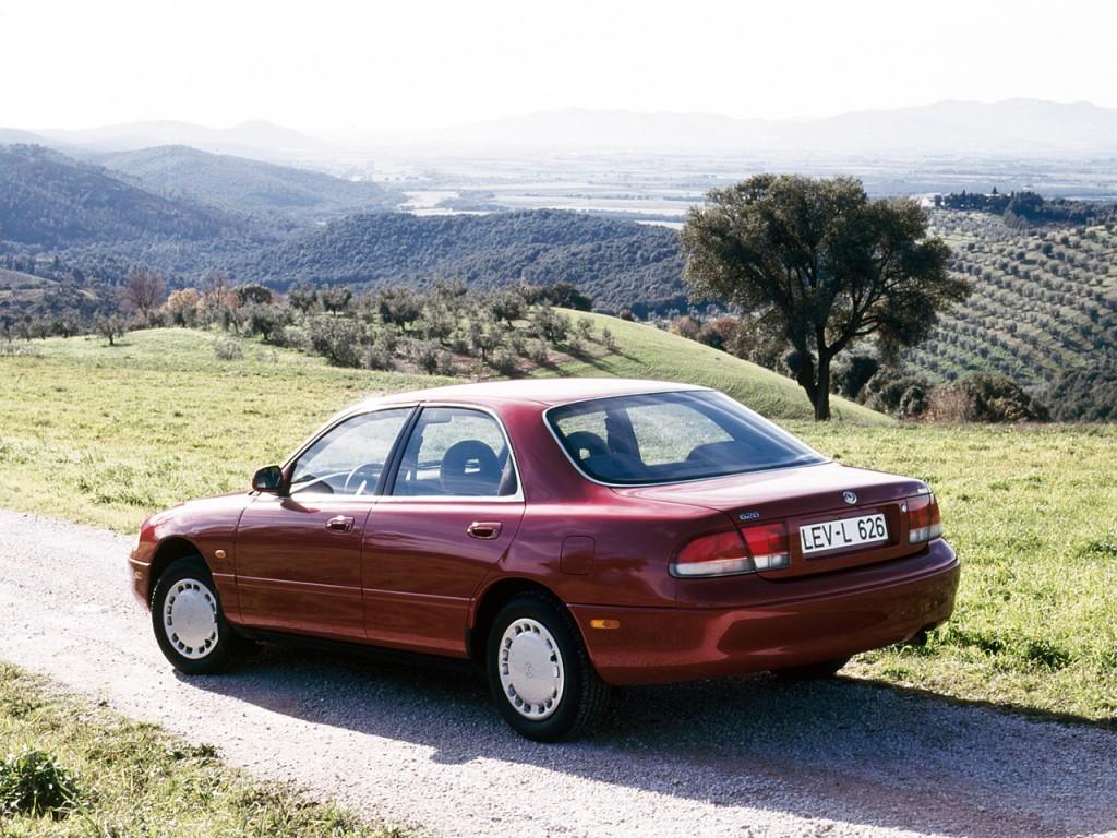mazda 626 mk 4 sedan 1993 1998