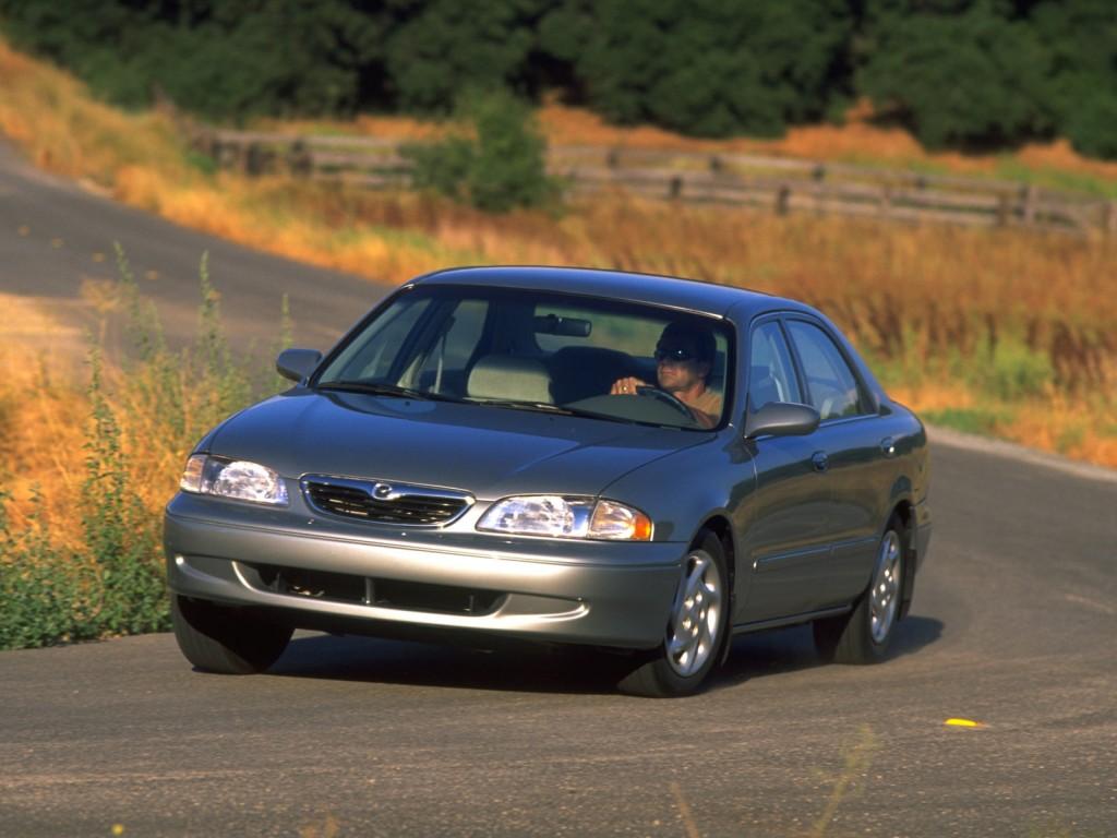 mazda 626 (mk.5) sedan specs - 1997, 1998, 1999, 2000, 2001, 2002