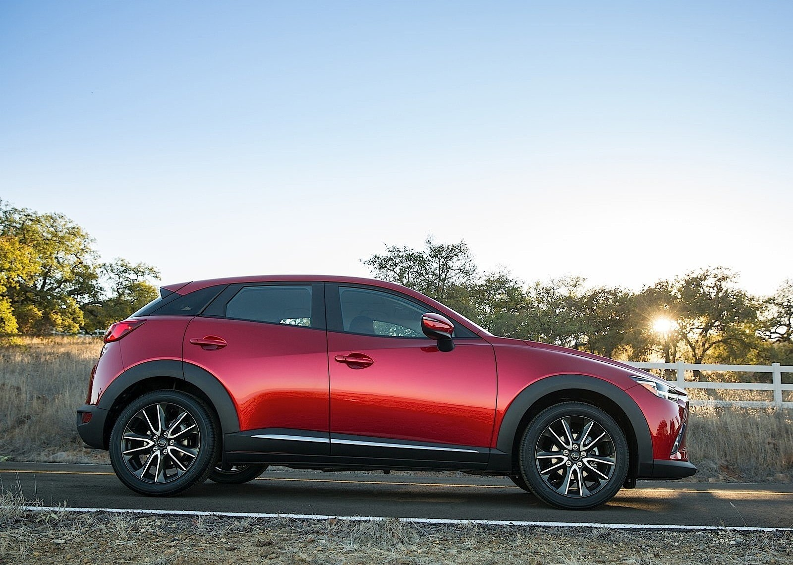 Mazda cx-3 ground clearance