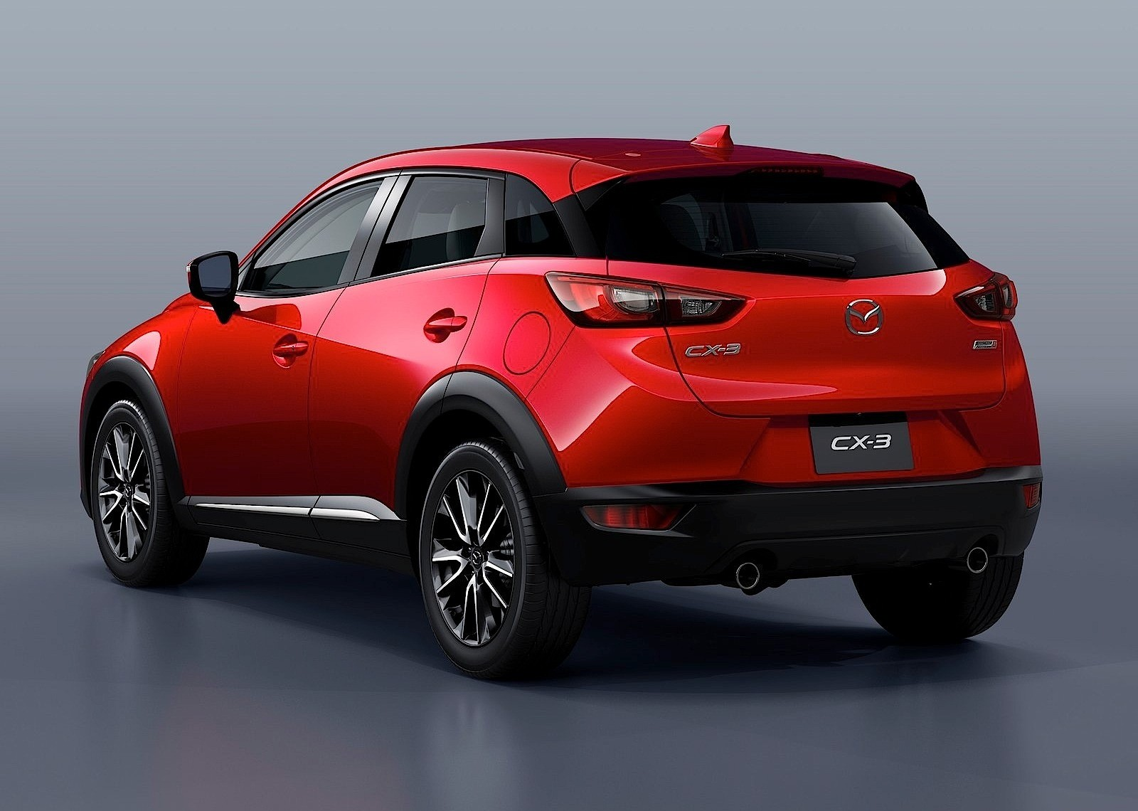 mazda cx 3 2015 2016 autoevolution. Black Bedroom Furniture Sets. Home Design Ideas
