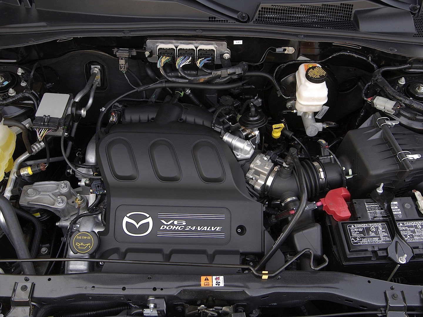 2005 Mazda Tribute Engine Diagram