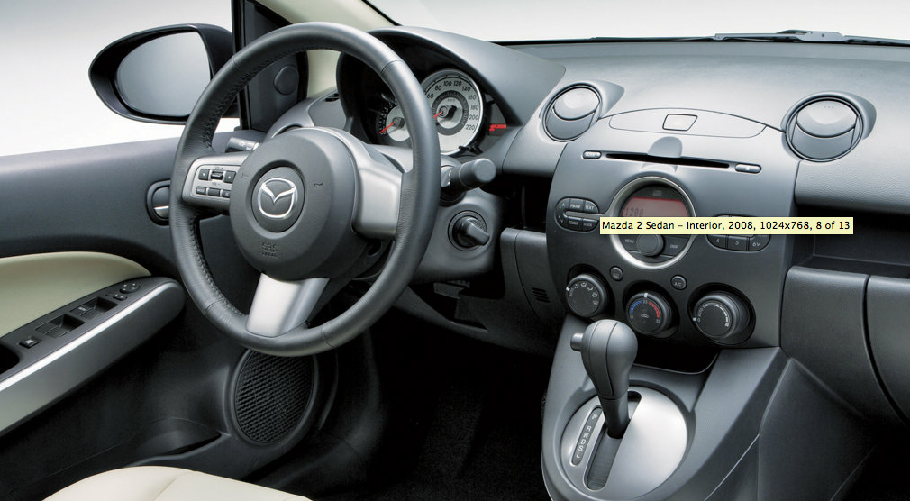 Mazda 2 Demio Sedan 2008 2009 2010 2011 2012