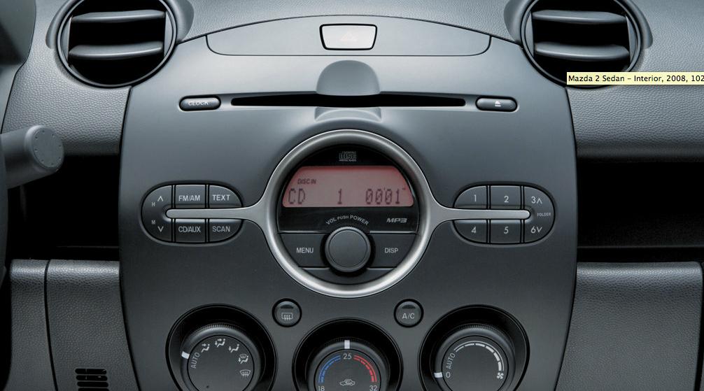 MAZDA 2 / Demio - sedan - 2008, 2009, 2010, 2011, 2012 ...