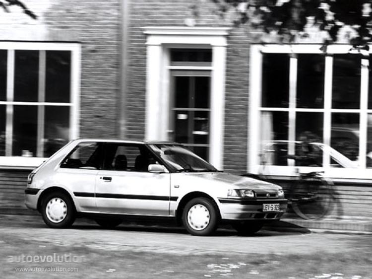 Mazda Mk Hatchback on 1991 Toyota Tercel Hatchback