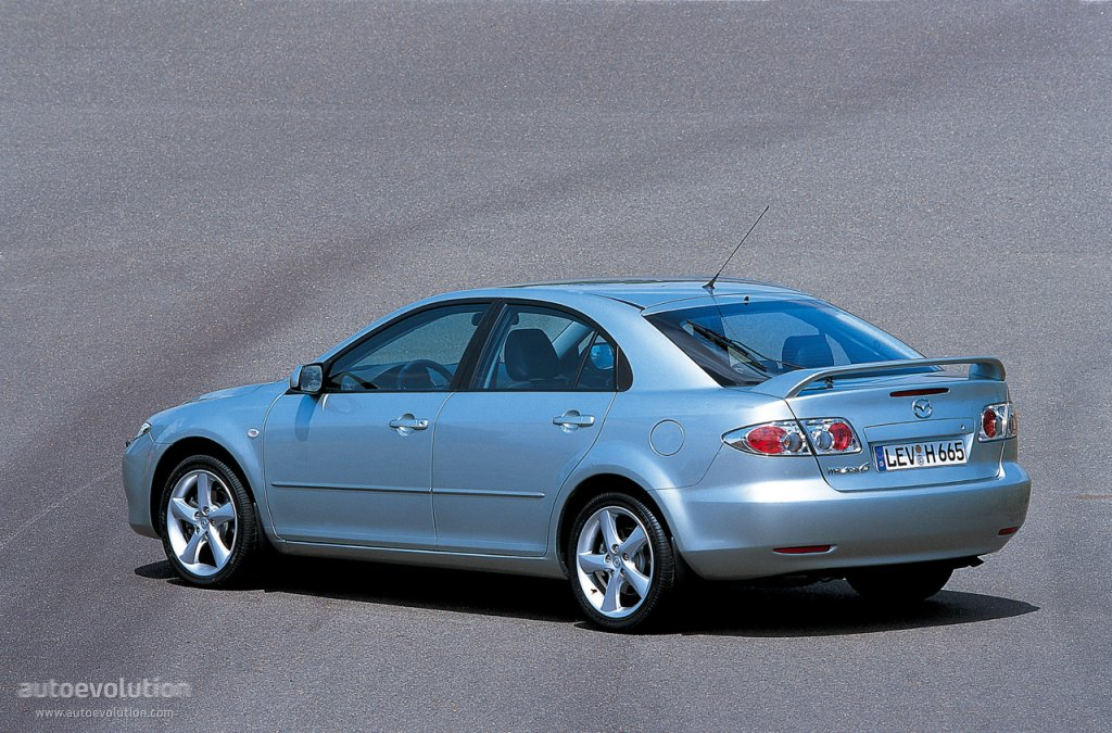 Wonderful ... MAZDA 6/Atenza Hatchback (2002   2005) ...