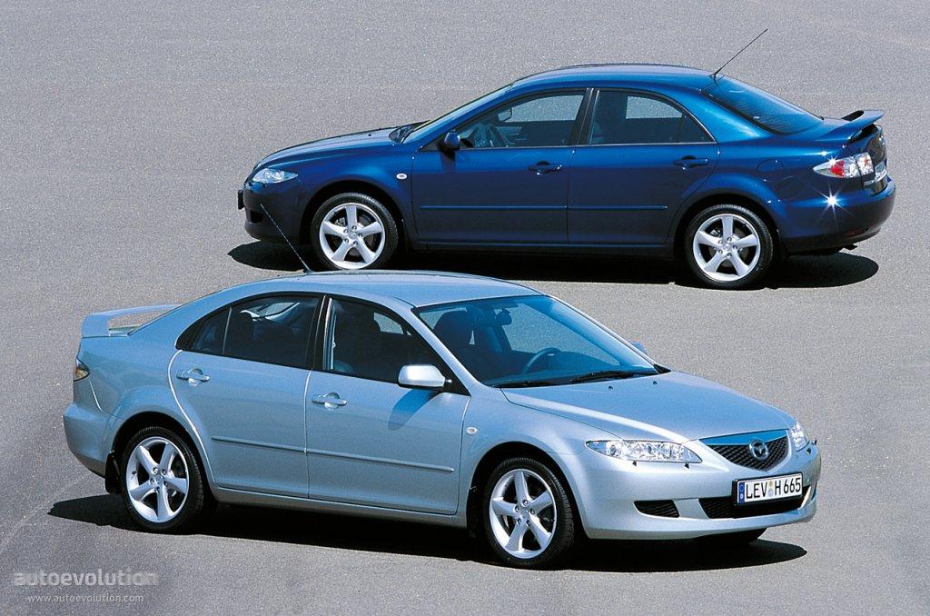mazda 6 atenza sedan specs photos 2002 2003 2004 2005 autoevolution. Black Bedroom Furniture Sets. Home Design Ideas
